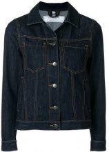 Société Anonyme - J cropped denim jacket - women - Cotton - S, M - BLUE