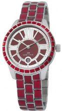 Carlo Monti CMZ01-144 - Orologio da polso donna, acciaio inox, colore: rosso