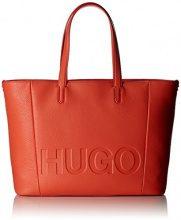 Hugo Mayfair Shopper - Borse Tote Donna, Rosso (Bright Red 628), 15x29x44 cm (B x H T)