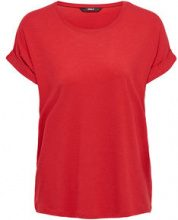 ONLY Loose T-shirt Women Red