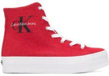 Calvin Klein Jeans - Sneakers alte - women - Nylon/Tactel/rubber - 37, 39, 41, 36 - RED