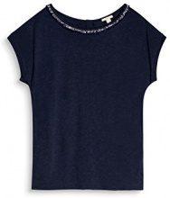 ESPRIT 097ee1k016, T-Shirt Donna, Blu (Navy 400), XX-Large