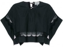 3.1 Phillip Lim - Top corto - women - Cotton - S, M - BLACK