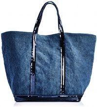 Vanessa Bruno 0Pve31-V40414, Borsa tote donna, Blu (Bleu (893 Denim)), Taille Unique