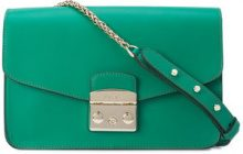 Furla - large Metropolis bag - women - Leather - OS - GREEN