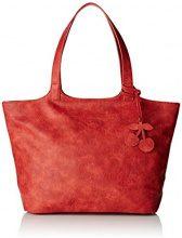 Le Temps des CerisesPhoenix Ltc3v2t - Borsa con Maniglia Donna, rosso (Rouge (Rose Framboise)), 16,5x26x44 cm (W x H x L)
