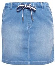 edc by Esprit 058cc1d011, Gonna Donna, Blu (Blue Medium Wash 902), 46 (Taglia Produttore: 40)