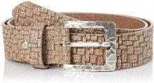 MGM Basket, Cintura Donna, Beige (Natur-Metallic 03), 80 cm