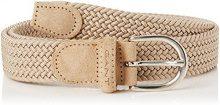 Gant Elastic Braid Belt, Cintura Donna, Beige (Putty), Small (Taglia Produttore: 34/85)