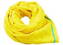 ESPRIT Accessoires 058ea1q010, Sciarpa Donna, Giallo (Bright Yellow 740), Taglia unica (Taglia Produttore: 1SIZE)