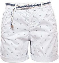 ESPRIT 058ee1c007, Pantaloncini Donna, Blu (Light Blue 440), 42 (Taglia Produttore: 36)