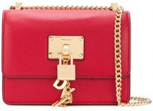 DKNY - buckle cross-body bag - women - Leather - One Size - RED