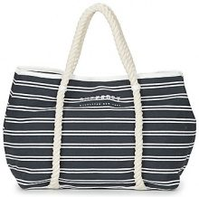 Borsa Shopping Superdry  BAYSHORE STRIPE BEACH TOTE