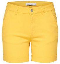 ONLY Chino Shorts Women Yellow