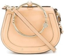 Chloé - Borsa a mano - women - Leather - One Size - NUDE & NEUTRALS