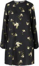Y.A.S Floral Anemone Mini Dress Women Black