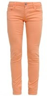 BEVERLY SKINNY ULTRA LOW - Pantaloni - mandarin flower
