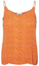 NOISY MAY Printed Singlet Women Orange