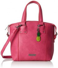 Tamaris Lorella Handbag - Borse a secchiello Donna, Pink, 12x27x25 cm (B x H T)