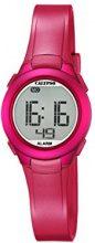 Calypso-Orologio digitale Unisex, con Display LCD digitale e cinturino in plastica, colore: rosa, K5677/4