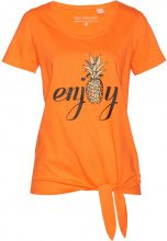 T-shirt con nodo (Arancione) - bpc selection