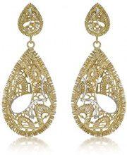 Carissima Gold Orecchini a pendolo e goccia Donna due_ori 9k_(375) - 2.54.4369