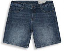 ESPRIT 047ee1c006, Shorts Donna, Blu (Blue Medium Wash), W30 (Taglia Produttore: 30)