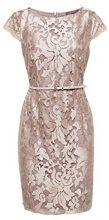 ESPRIT Collection 028eo1e046, Vestito Elegante Donna, Marrone (Taupe 240), 42 (Taglia Produttore: 36)