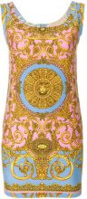 Versace Vintage - Vestito 'Pastel Baroque' - women - Cotton - 40 - MULTICOLOUR