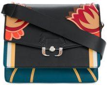 Paula Cademartori - Borsa a spalla a fiori - women - Leather - OS - BLACK