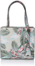 Guess Hobo, Borsa a Spalla Donna, Multicolore (Palm), 13x25x27 cm (W x H x L)