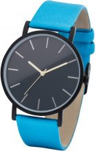 Orologio con quadrante nero (Blu) - bpc bonprix collection