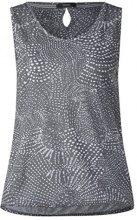 Cecil 312164 Friederike, Canottiera Donna, Grau (Graphit Light Grey 20498), XXL