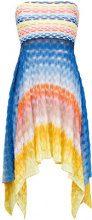 Missoni Mare - Copri costume asimmetrico - women - Polyester/Spandex/Elastane/Rayon - 40 - MULTICOLOUR