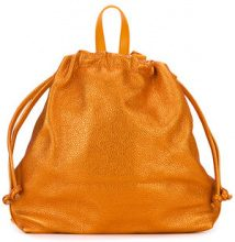 Danielle Foster - Bella Ruck sack backpack - women - Leather - OS - YELLOW & ORANGE