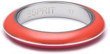 Esprit Anello da Donna, Acciaio Inossidabile, Arancione/Rosa, Misura 57 (18.1)