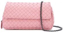 Bottega Veneta - Borsa a spalla mini - women - Leather - OS - PINK & PURPLE