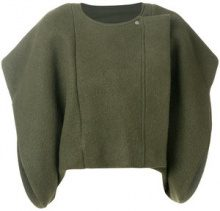 Rick Owens - Giacca oversized - women - Virgin Wool/Cotton/Spandex/Elastane - 42 - GREEN