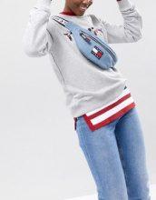 Tommy Jeans - Capsule 5.0 - Marsupio di jeans stile anni '90 - Blu