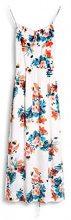 ESPRIT 067ee1e031, Vestito Donna, Multicolore (Off White 110), 42