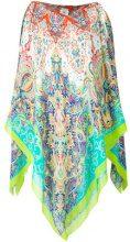 Etro - Kaftano stampato - women - Silk - One Size - MULTICOLOUR
