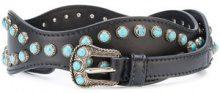 Prada - Cintura con borchie - women - Calf Leather - 75, 80, 85, 90 - Nero