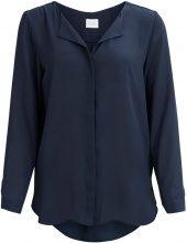 VILA Feminine, Simple Shirt Women Blue