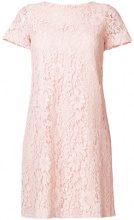 Blanca - Vestito con pannelli in pizzo - women - Viscose/Cotone/Polyamide - 42 - Rosa & viola