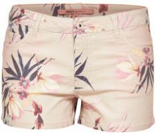 ONLY Printed Shorts Women Beige