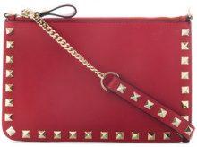 Valentino - Pochette 'Rockstud' Valentino Garavani - women - Leather - OS - RED