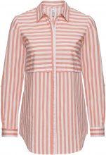 Camicia a righe (Arancione) - RAINBOW