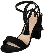 New Look Tashel, Scarpe Col Tacco Punta Aperta Donna, Black (Black 1), 40 EU