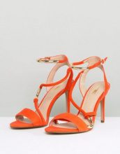 Carvela - Sandali effetto nudo arancioni con cinturini - Arancione