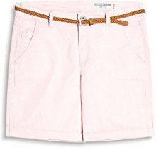 edc by Esprit 067cc1c009, Pantaloncini Donna, Rosa (Pastel Pink 695), 34